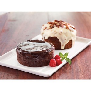 JACK STACK DESSERT 2-PACK - Mom's Carrot Cake & Triple Chocolate Brownie