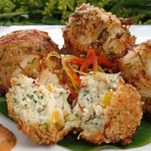 Blue Crab Fritters - 8 of  3 oz. each