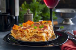 Classic Traditional Lasagna - Serves 2 (Beef, Veggie or Plain)