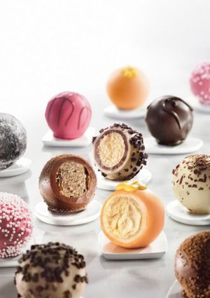 Chocolate Truffles Assortment - 35 pieces per tray