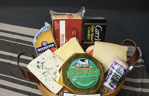 A Basket of Cheese Favorites