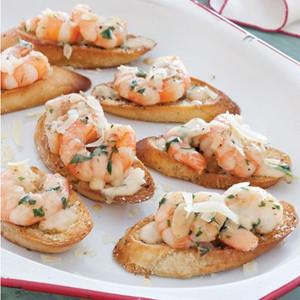 Island Shrimp Canapes - 50 pieces per tray