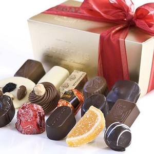 Leonidas Belgian Chocolate Assortment -  1 lb. Mixed in Ballotin Gift Box