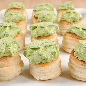 Escargot Achatine in Puff Pastry - 12 pieces 5 oz each.