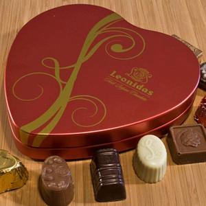 Leonidas Sweetheart Tin - Belgium Gourmet Chocolates