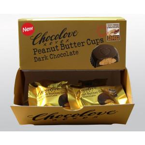 Peanut Butter Cup Dark Chocolate (50 single cups)