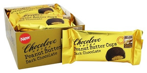 Peanut Butter Cups Dark Chocolate (2 cup packs)
