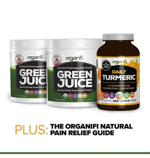 ORGANIFI NATURAL PAIN RELIEF KIT
