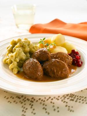 Kjøttboller: Norwegian Meatballs per 1 lb