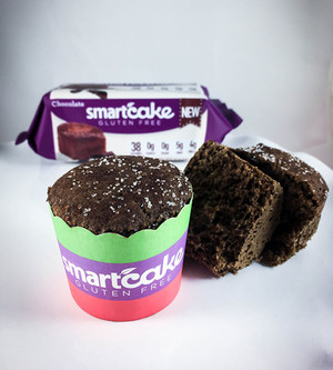 CHOCOLATE SMARTCAKE® SHIPPER BOX, Gluten Free, ZERO CARB of sugar of starch