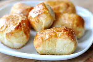 Cinnamon Soft Pretzel Bites (salted or unsalted) - (Low Carb / Keto)