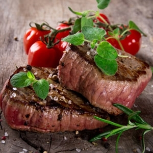 NZ Wagyu Filet Mignon / Tenderloin Steaks 2 x 6 oz each - BMS 10