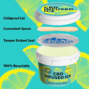 CBD Lemon Ice - Italian Ice - 3, 6, 12 & Case of 36 Available