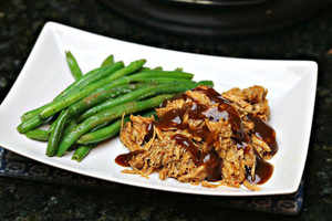Keto Low Carb BBQ Chicken with Green Beans (GF, DF)