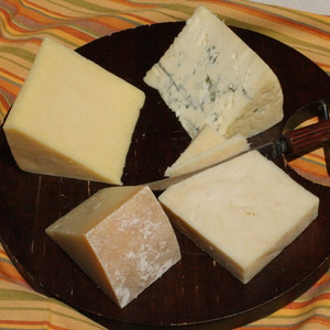 Cheese Assortment From The Western USA