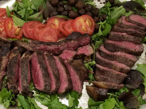 """Japanese Wagyu New York Strip A5 - includes 2, 1/2"""" thick"""