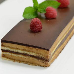 French Opera Cake - 6 strip cakes - 24 oz ea