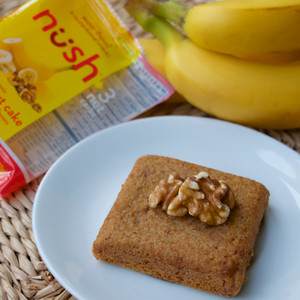 Banana Nut Cake (Pack of 6) - Nush Foods