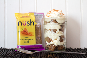Spiced Carrot Cake (Pack of 6) - Nush Foods