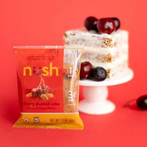 Cherry Almond Cake (Pack of 6) - Nush Foods
