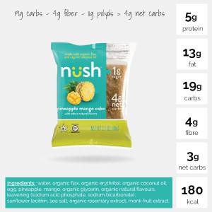 Pinapple Mango Cake (Pack of 6) - Nush Foods