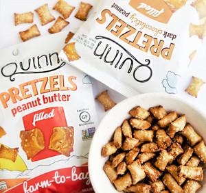 Peanut Butter Filled Pretzels, 6.5 Ounce - GF, Non GMO - Farm to Bag