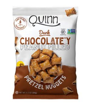 Whole Grain Chocolatey Peanut Butter Filled Pretzels, 6.5 Ounce - GF, Non GMO - Farm to Bag