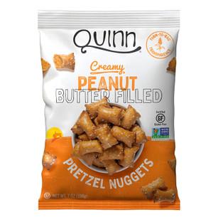 Whole Grain Peanut Butter Filled Pretzels, 6.5 Ounce - GF, Non GMO - Farm to Bag