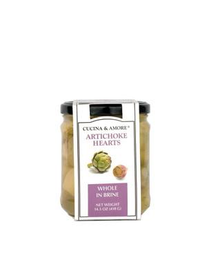 Cucina & Amore Artichoke Hearts, Whole in Brine - 6 Pack