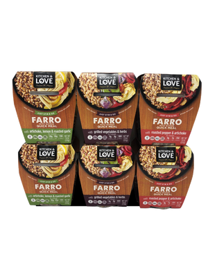 Farro Meal Variety Pack - Cucina & Amore - 6 Pack