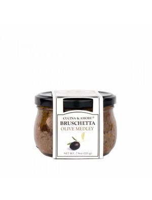 Cucina & Amore Bruschetta, Olive Medley,  7.9 Oz. Set of 6