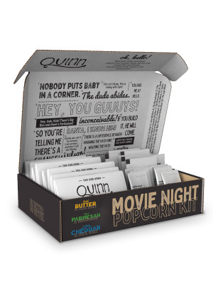 Movie Night Variety Pack Box - Quinn Snacks