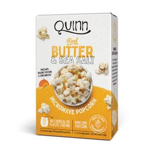 Real Butter & Sea Salt, Microwave Popcorn - Non GMO