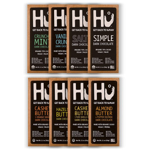 Hu Chocolate Bars 8 Pack VARIETY SAMPLER PACK
