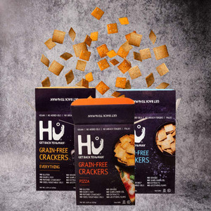 Hu Paleo Vegan Crackers - Variety 3 Pack