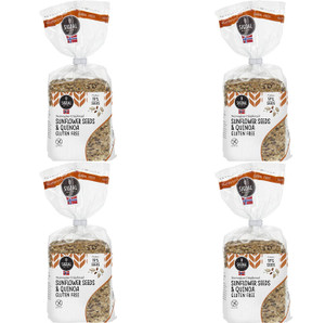 Sigdal Bakeri Gluten Free Sunflower Seeds & Quinoa Wholegrain Crispbread - Pack of 4