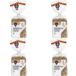 Sigdal Bakeri Gluten Free Sunflower Seeds & Quinoa Wholegrain Crispbread - Pack of 4