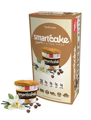 Vanilla Latte Smartcake® 4-Pack