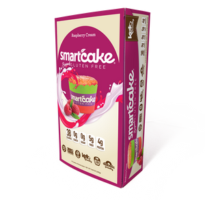 Raspberry Cream Smartcake® 4-Pack