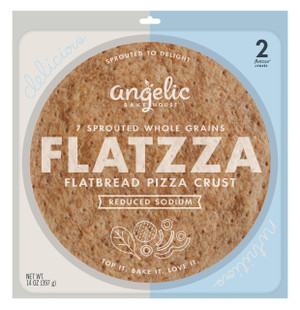 Reduced Sodium Sprouted Flatzza® Pizza Crusts - includes 2