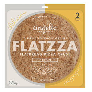 Flatzza® Sprouted Pizza Crusts - includes 2