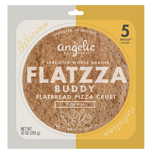 ALWAYS SPROUTED Flatzza® Buddy Crusts - includes 5