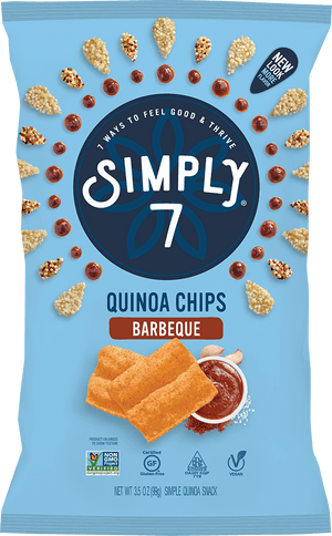 Quinoa Chips, Barbeque, 3.5 Ounce -  Pack of 12 - Gluten Free