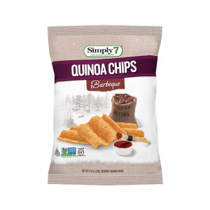 Quinoa Chips, Barbeque, 0.8 Ounce -  Pack of 24 - Gluten Free