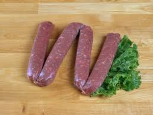 Sweet Italian Beef Sausage (Raw) - 12 oz- Kosher