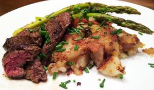 Elk Sirloin Steaks - 2 steaks - 1 lb