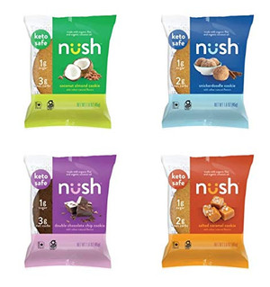 Nush Keto Mixed Cookies - includes 10