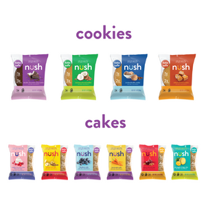 Nush Keto Mixed Cakes & Cookies - includes 6 Cakes, 10 Cookies