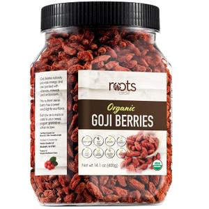 Roots Circle USDA Organic Dried Goji Berries | Bulk Supply of Goji Berry Fruit Superfood