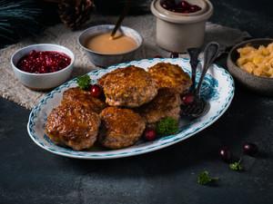 Norwegian Pork Patties / Meatballs (Medisterkaker) - 1 lb